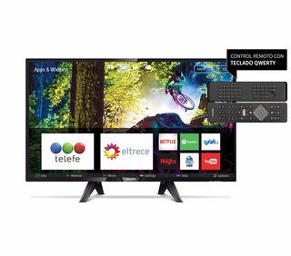 Smart Tv 32 Philips Led 32phg5102 Tda Control Qwerty Netflix