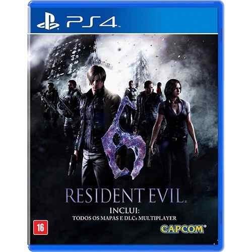 Resident Evil 6 Para Ps4 Mídia Física Lacrado Rcr Games