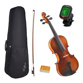 Violino 4/4 Envernizado - Gratis Estojo + Breu + Afinador