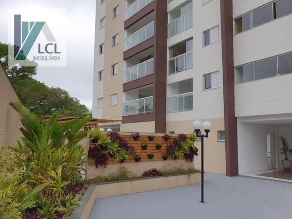 Apartamento Com 2 Dormitórios À Venda, 64 M² Por R$ 290.000,00 - Parque Assunção - Taboão Da Serra/sp - Ap0084