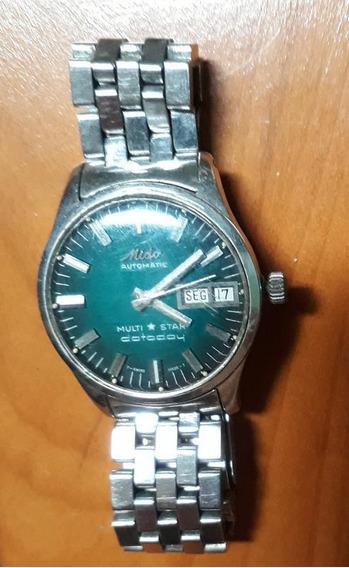 Relógio Vintage Mido Multi*star Datoday