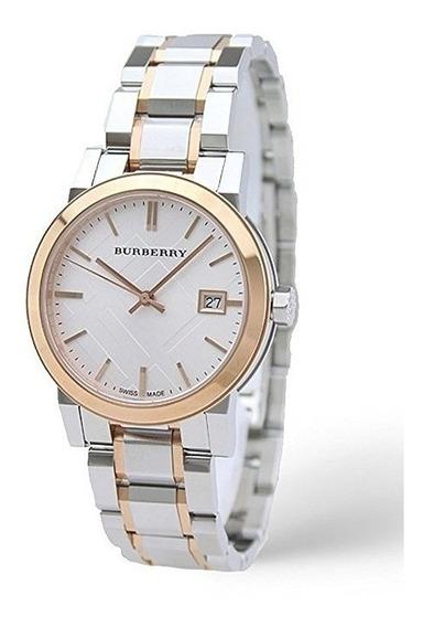 Reloj Burberry Swiss Casual Acero Dos Tonos Mujer Bu9105