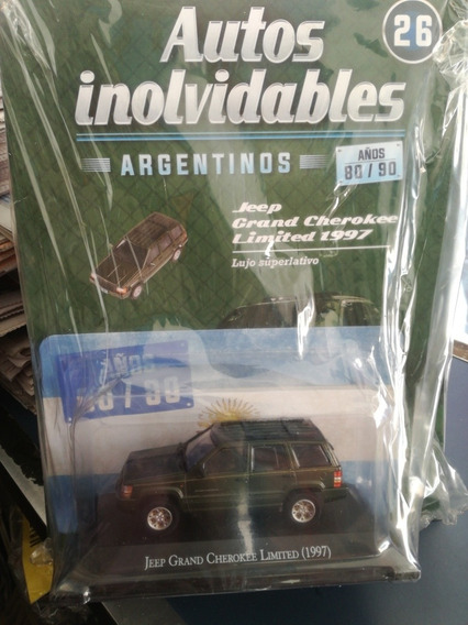Autos Inolvidables Jeep Grande Cherokee Límited 1997