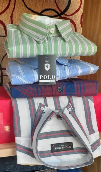 Camisas Mangas Largas Polo Sur