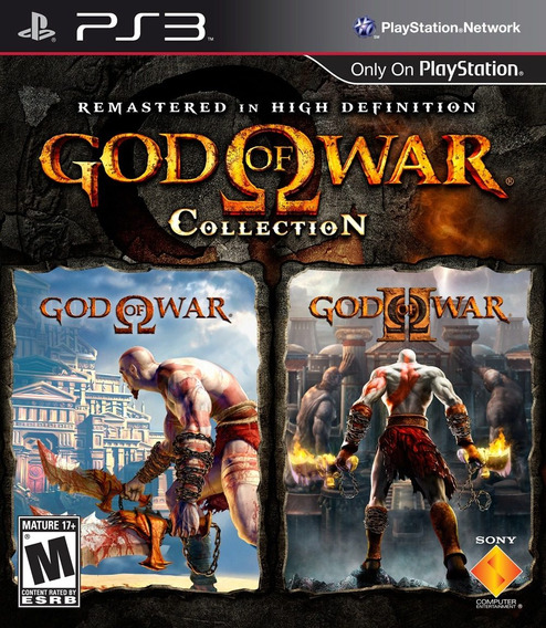 God Of War Collection 1 E 2 Em Hd - Jogos Ps3 Playstation 3