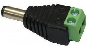 Plug Adaptador Tipo P4 Dc 5,5mm Macho Kre2 P/ Câmeras