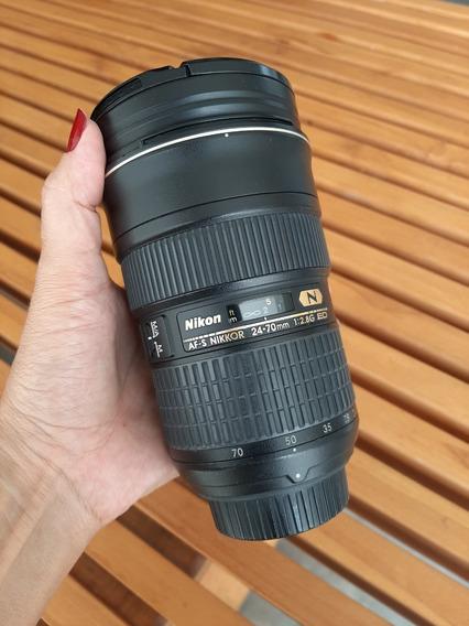 Lente Af-s Nikkor 24-70mm 2.8g Ed
