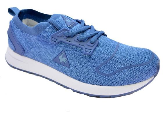 Zapatillas Le Coq Sportif Royan Mujer Calce Medias Vs Color