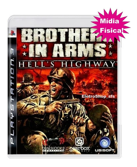 Brothers In Arms - Hell´s Highway Ps3 Mídia Física Origina