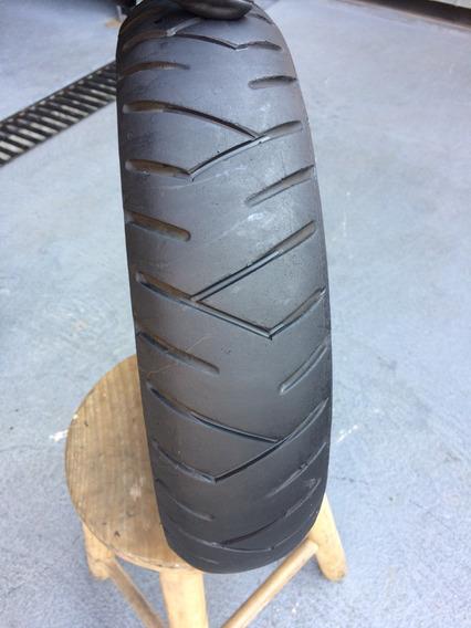 Pneu 3.50/10 Pirelli Sl26 Usado Bom Scooter Vespa Led Jog