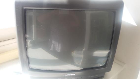Tv Mitsubishi 20 - Usada Em Bom Estado
