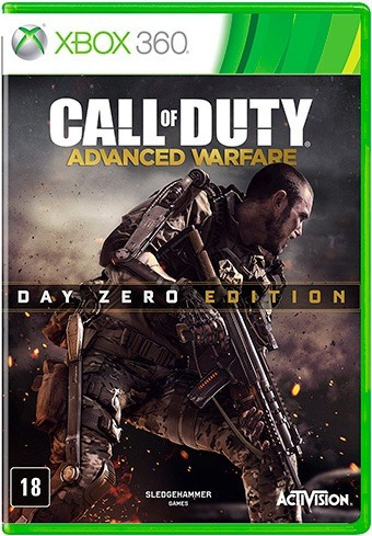 Jogo Call Of Duty Advanced Warfare Edição Day Zero Xbox360