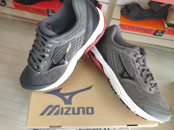 Tênis Mizzuno Dynasty 3 Masc Cinza/ Vermelho