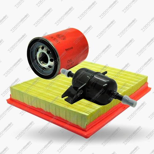 Kit 3 Filtros Fiat Idea 1.4 Original