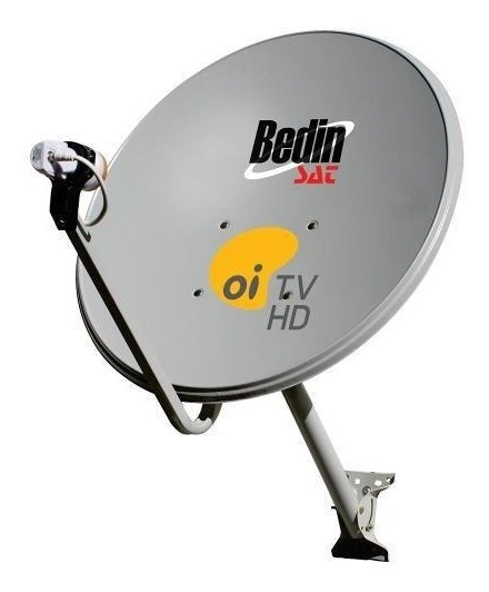 Antena Original Oi Tv 60cm Lnb Incluso E Fios