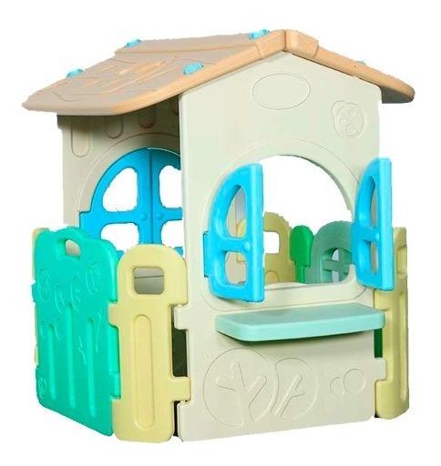 Casinha De Brinquedo Colorida Infantil Kids Playground