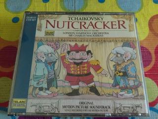 Nutcracker Cd Original Soundtrack Recording Tchaikovsky R