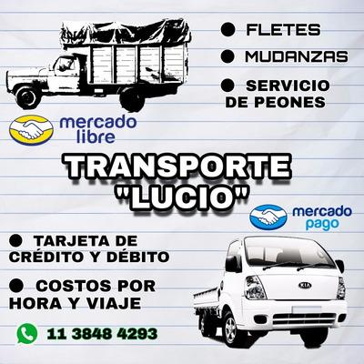 Fletes Mudanzas Transporte Camiones Zona Sur Economico Tarje