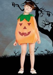 Disfraz De Calabaza Halloween Talle 1
