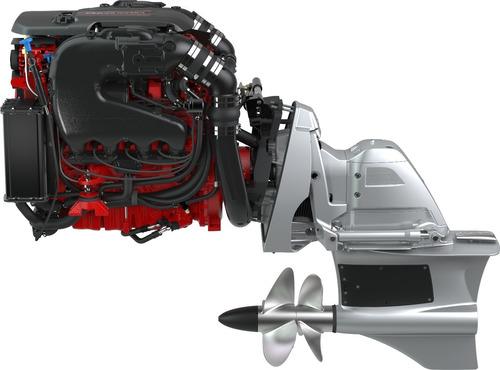 Motor Volvo Penta 5.3 V8 300hp + Rabeta Fwd P/ Barco Lancha
