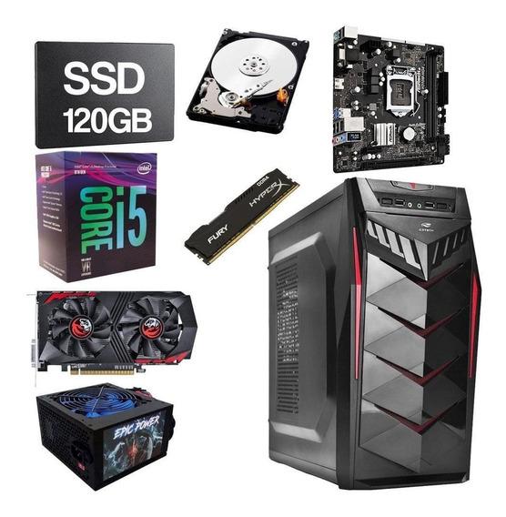 Pc Gamer Intel Core I5 8400 2.8ghz 8gb Ddr4 120gb Hd 1tb 2gb