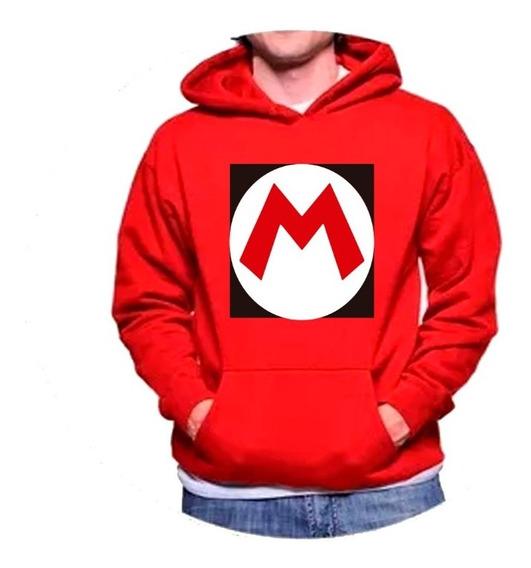 Sudadera Nintendo Mario Bros Logo Unisex Adulto