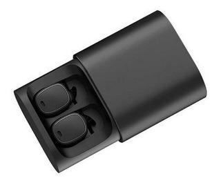 Fone Ouvido Qcy T1 Tws Sem Fio Bluetooth Preto Orginal