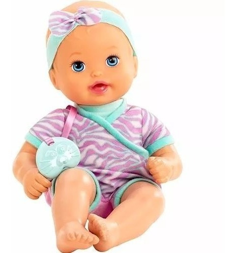 Bebê Little Mommy Recém Nascido Caucasiano Mattel