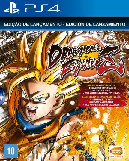 Dragon Ball Fighter Z Ps 4 Mídia Física