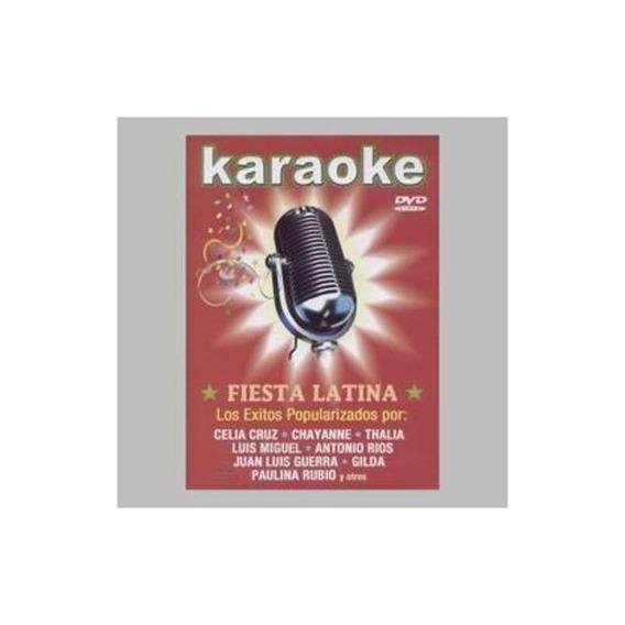 Karaoke Fiesta Latina Dvd Nuevo