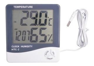 Medidor De Temperatura Y Humedad Digital. Varias Funciones.