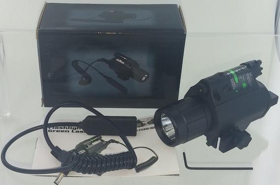 Mira Lampara Tactica Laser Verde Co2 Gotcha