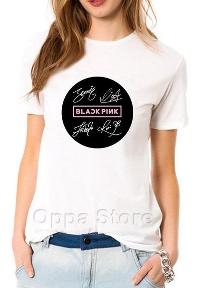 Blackpink Remera Lisa Jennie Jisoo Rose Blackpink K-pop