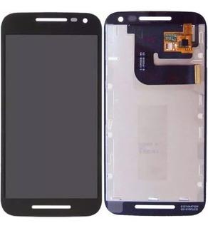 Frontal Completa Motorola Moto G3 + Película De Vidro