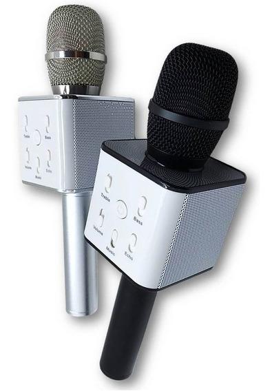 Microfone Bluetooth Sem Fio Karaokê Entrevista Áudio Youtube