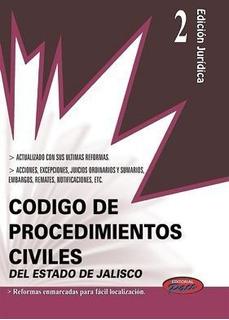 Codigo Civil Y De Procedimientos Civiles De Jalisco 2018