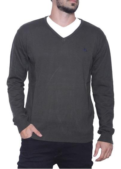Sweater Bremer Basico V Con Bordado   Bravo Jeans (26707)