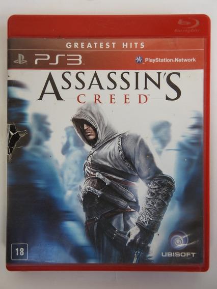 Jogo Assassins Creed 1 Ps3 Midia Fisica Original Frete 10,00