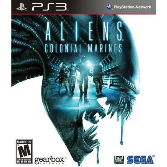 Aliens Colonial Marines Seminovo Ps3! Loja Física!