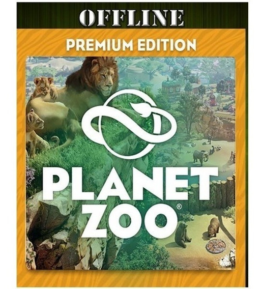 Planet Zoo Pc Premium Edition Steam - Modo Campanha