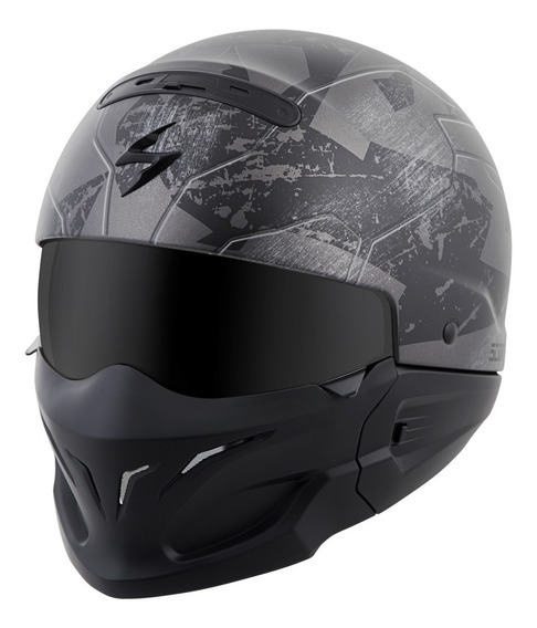 Casco Scorpion Exo Covert Ratnik Gris Camo Mate