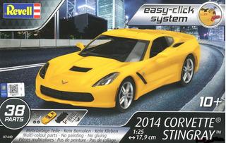 Corvette Stingray 2014 Kit Revell 1/25 Plastimodelismo