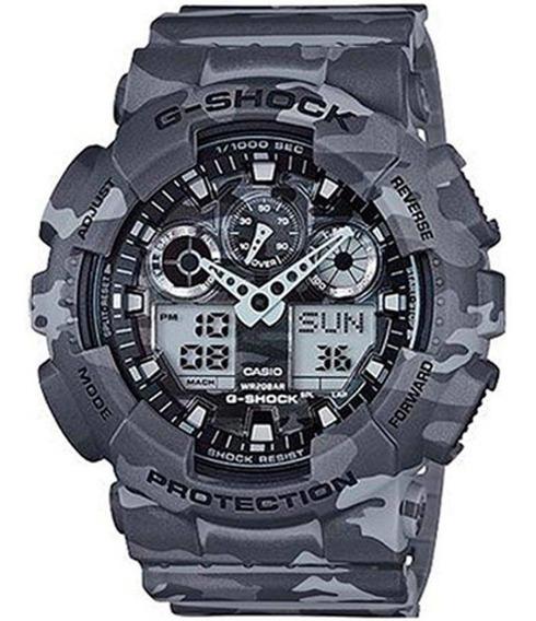 Relógio Masculino Casio G-shock Ga-100cm-8adr - Camuflado