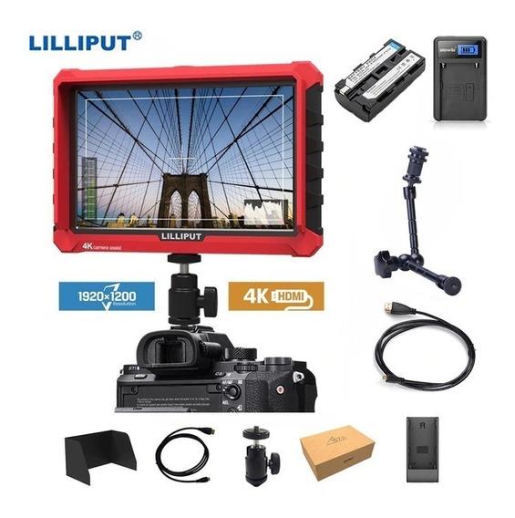 Monitor Lcd Dslr Lilliput A7s 1920x1200 4k Completo