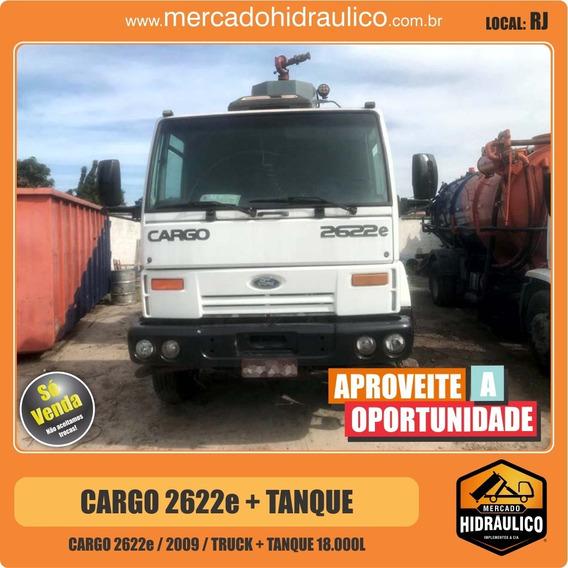 Cargo 2622e / 2009 - Tanque Rabo De Pavão 18000 Litros