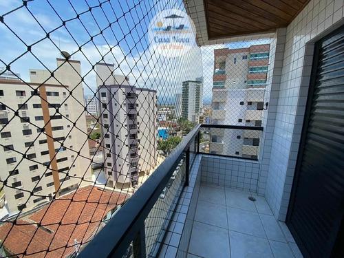 Imagem 1 de 20 de Apartamento Padrão À Venda Em Praia Grande/sp - 368