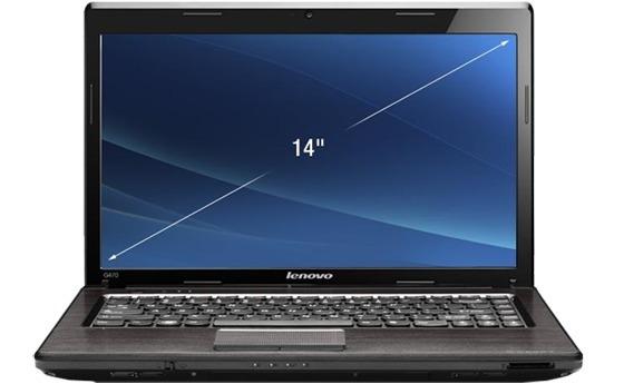 Notebook Lenovo G470, Tela 14