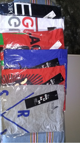 Kit 10 Camisetas