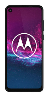 Celular Libre Motorola One Action Denin Gray Iridescent