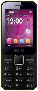 Celular Blu T175 Câmera Rádio Fm Jogos Bluetooth Amarelo